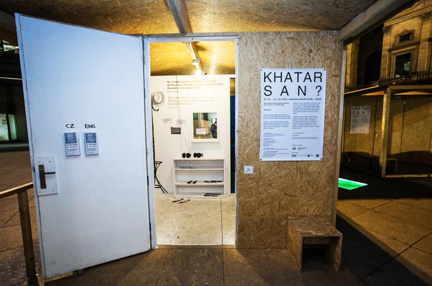 """výstava """"khatar san?"""""""