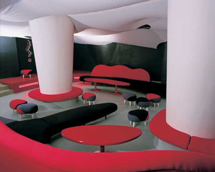 INTERIOR OF MECCA CLUB