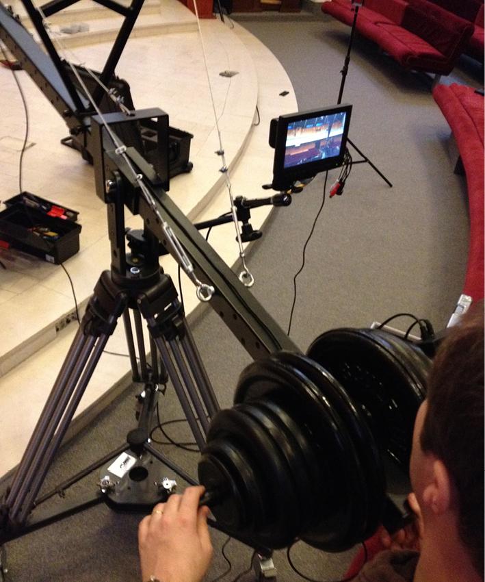 kamerové rameno
