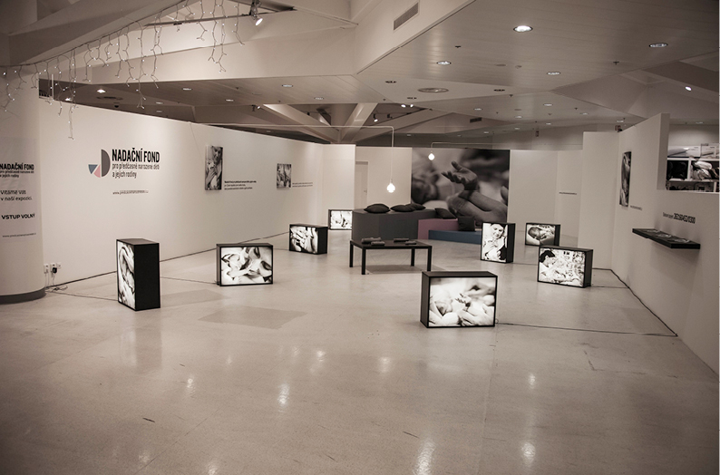 The Foundation exhibiton