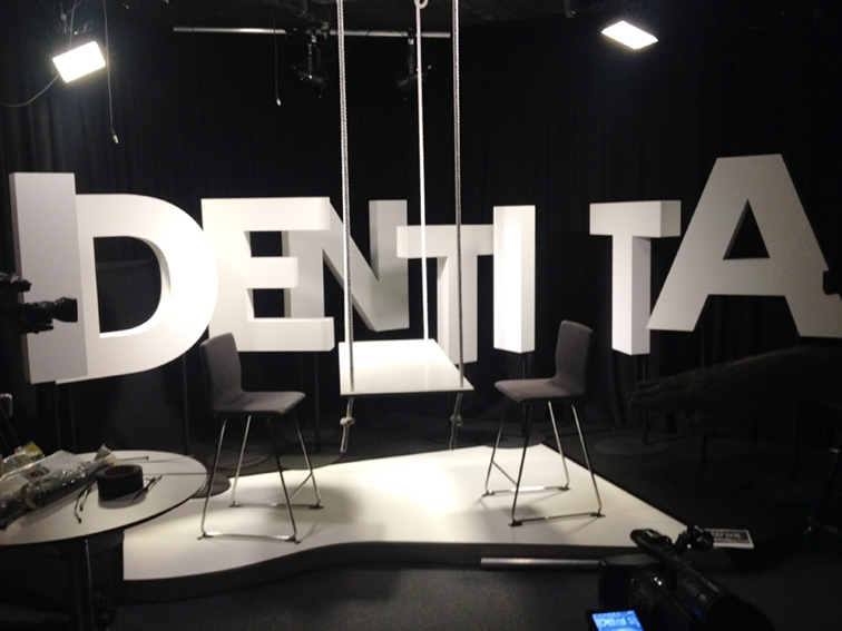 TV show scene